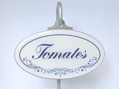 Tomates étiquette botanique