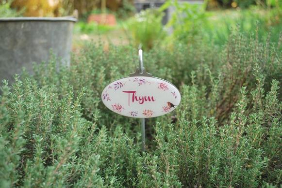Marque plante jardin