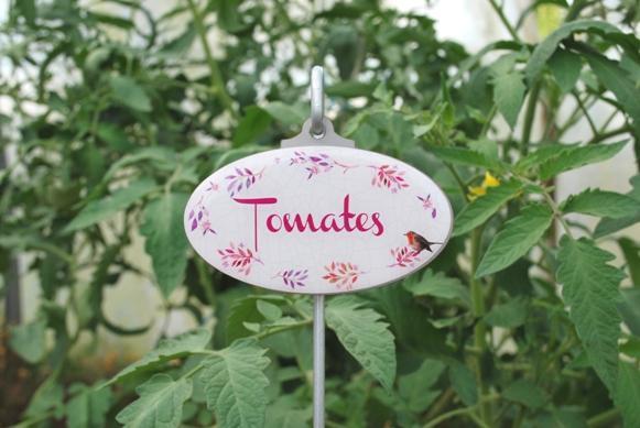 Pancarte de jardin potager