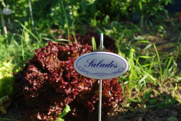 Panneau jardin